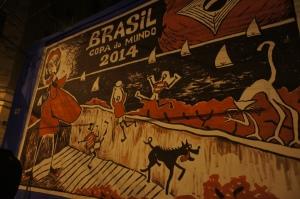 Mural in Lapa