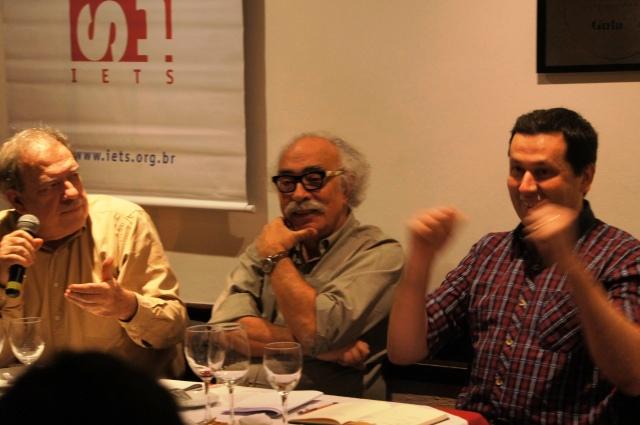 Flávio Ferreira, Luís Fernando Janot e Washington Fajardo
