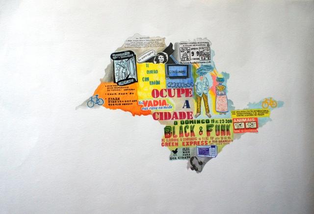 São Paulo, by Peruvian Eliana Otta