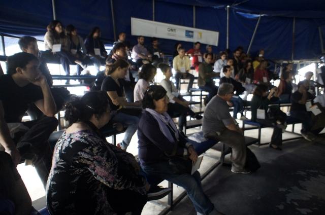 O anfitrião para os debates da Casa Fluminense foi o Circo Crescer e Viver
