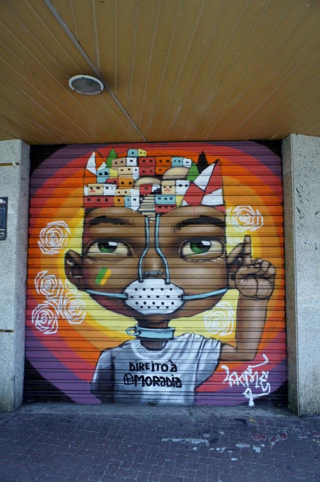 Arte de rua em Ipanema