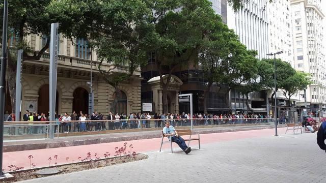 A Rio Branco, hoje, sem carros: a desprogramação das cidades